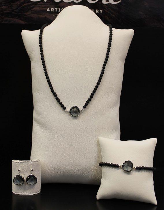 grey crystal set