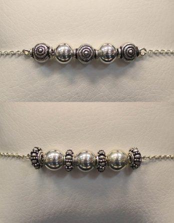 patterned beads bracelets