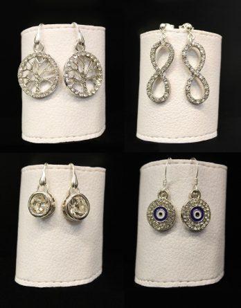 symbol earrings